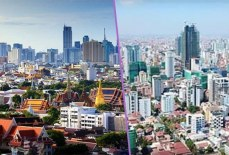 A foreign website compares the real estate potential in Phnom Penh to Bangkok 30 years ago